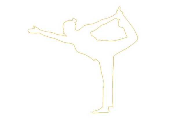 yoga head