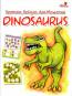 Bermain, Belajar, dan Mewarnai Dinosaurus