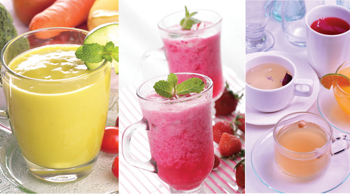 jus dan ramuan herbal