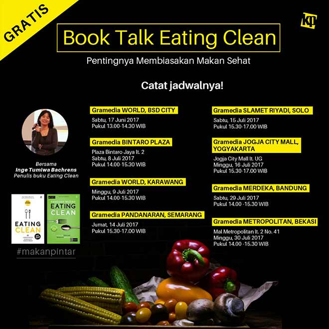 Book Talk Eating Clean