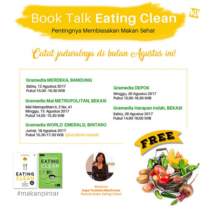 book talk eating clean with Inge Tumiwa
