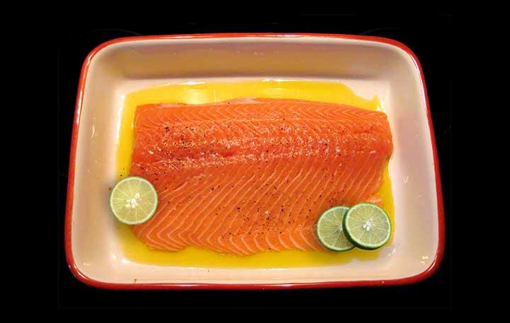 sajiap super sedap dari ikan salmon