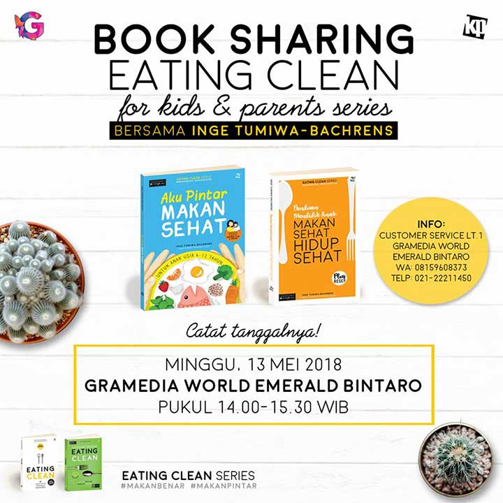 book sharing earting clean