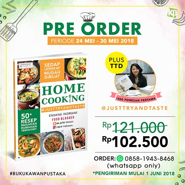 preorder buku home cooking