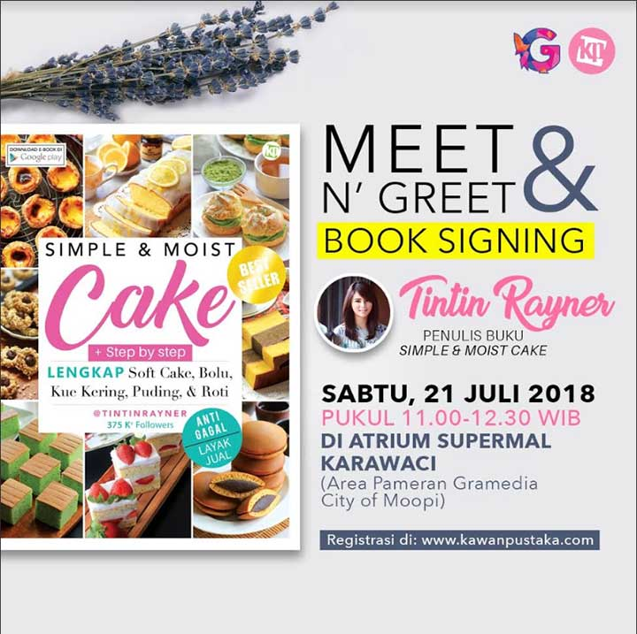 Meet Greet Simple cake