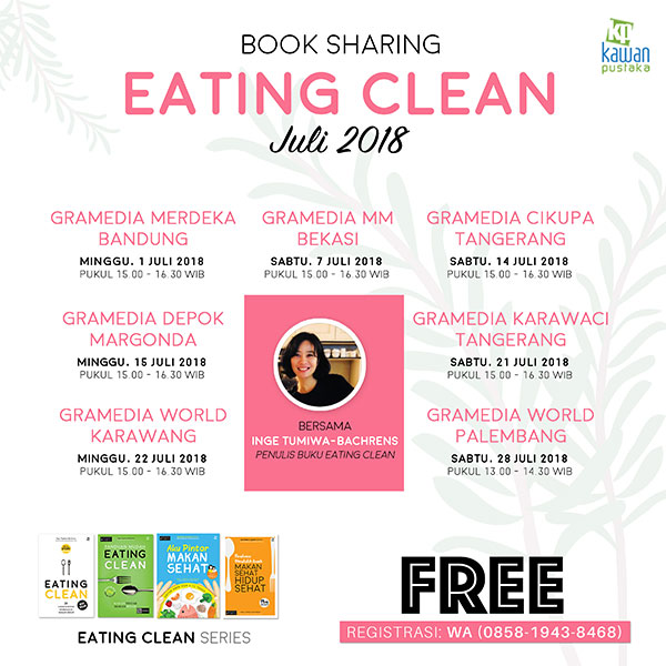book sharing eating Juli 2018