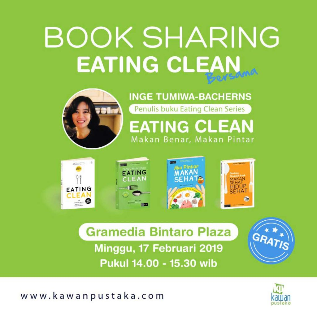 book sharing earing clean