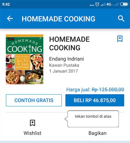 beli ebook homemade cooking