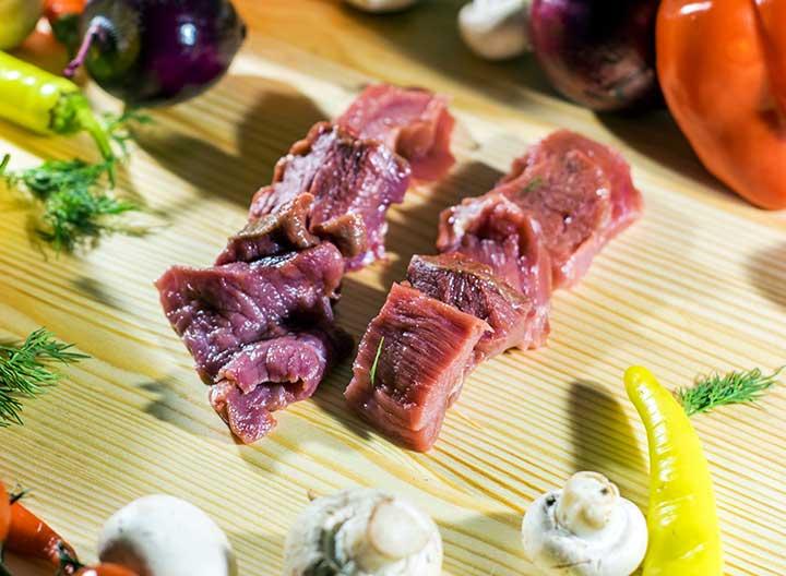 mengurangi bau prengus daging kambing