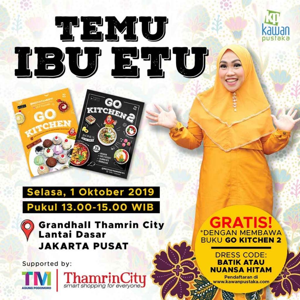 daftar ibu etu di Thamrin City 2019