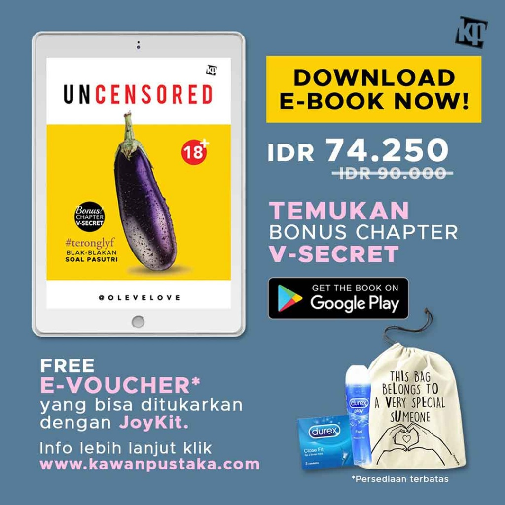 Download Ebook Uncensored dapatkan Joykit