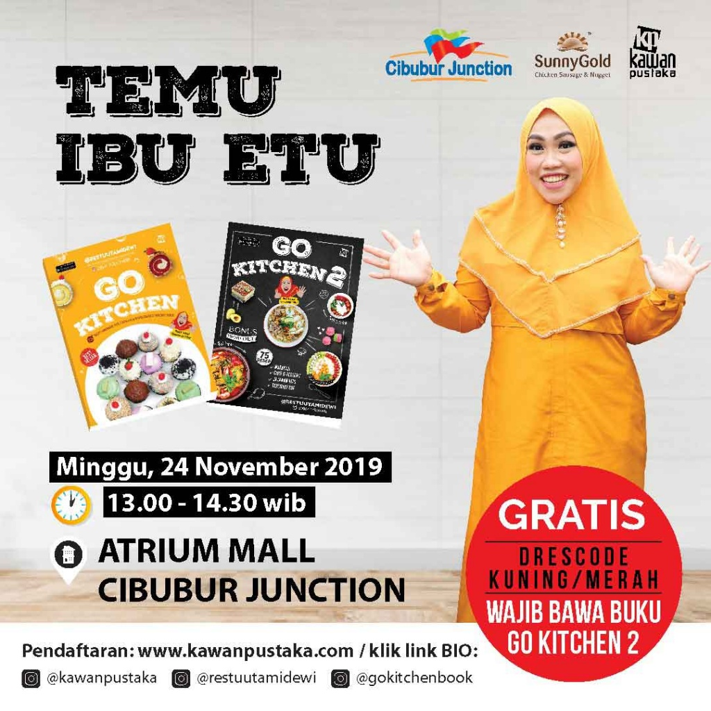 Temu Ibu Etu Cibubur Junction