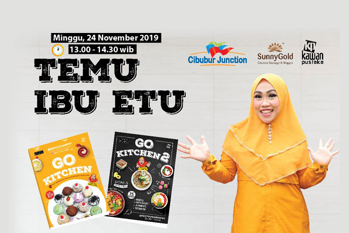 Temu Ibu Etu di Cibubur Junction
