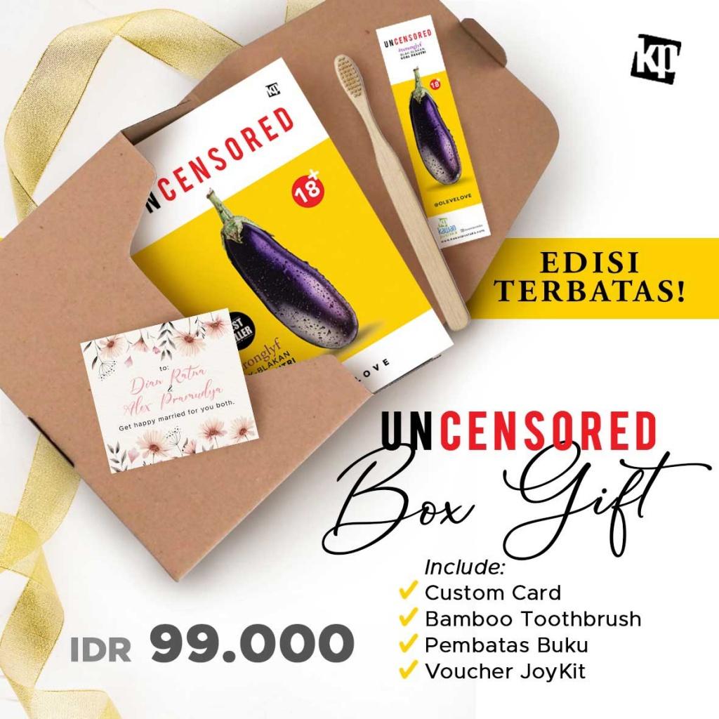 Edisi Terbatas Uncensored Box Gift