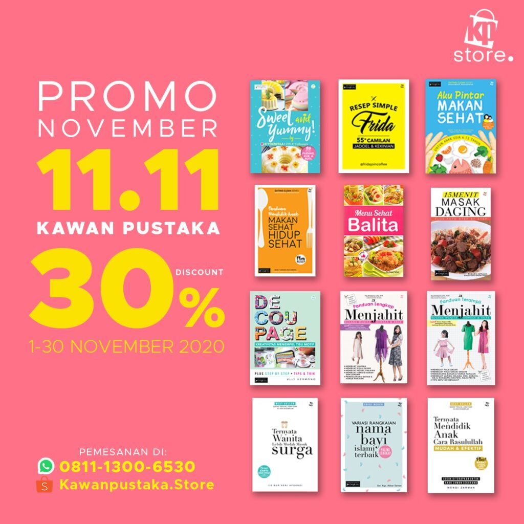 Promo November 11 11 30%